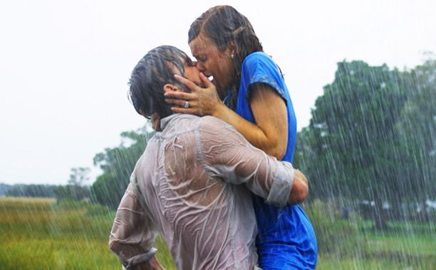 Resultado de imagem para movie the notebook chuva