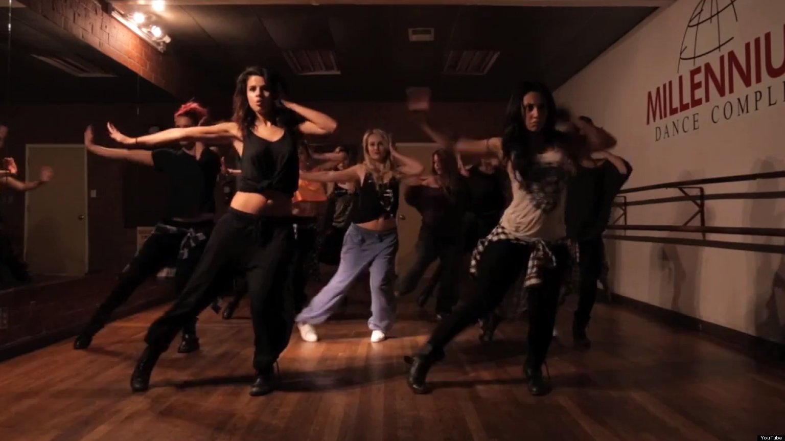 The Most Awesome Dance Rehearsal Videos From Pop Divas