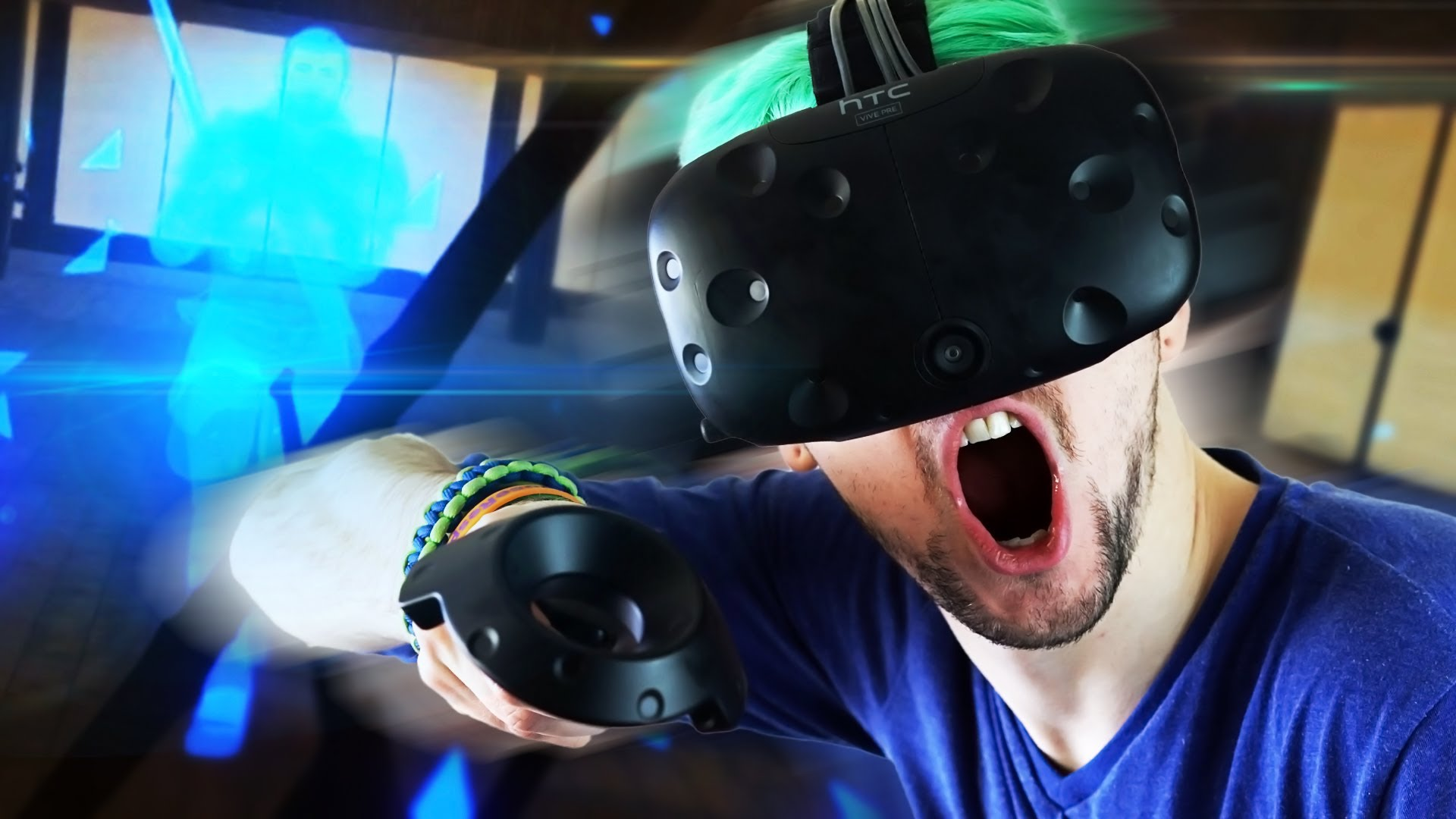 The Funniest Videos Of Jacksepticeye Playing Virtual Reality