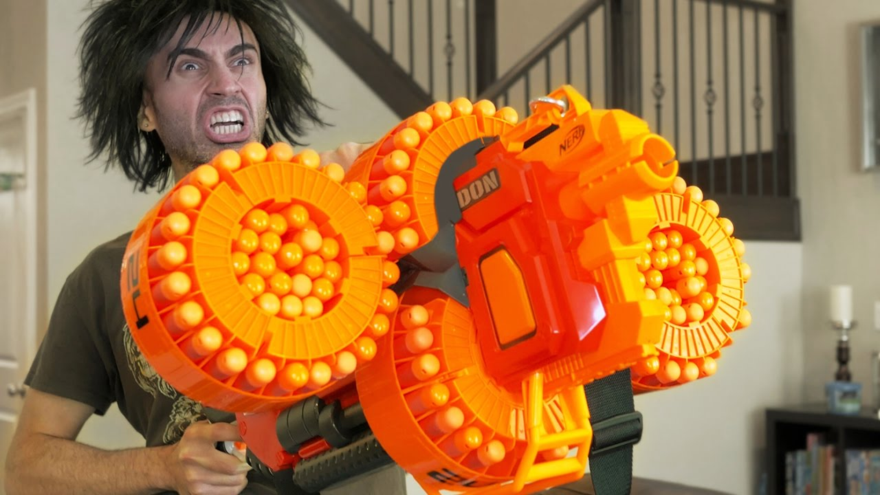 The Most Epic Nerf Guns War Of All Times!